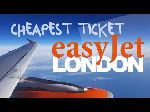 TRIP REPORT | CHEAPEST TICKET to London | easyJet