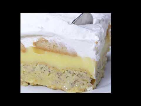 OMG!!! Banana Poke Cake!!!  Yum!!, topped with delicious banana pudding