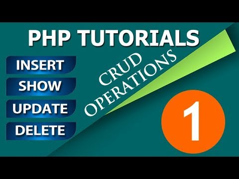 Insert View Update and Delete in PHP MySQL Hindi Tutorials | PHP Tutorials in Hindi