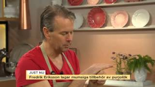 Fredrik Eriksson bjuder på purjolök gånger tre - Nyhetsmorgon (TV4)