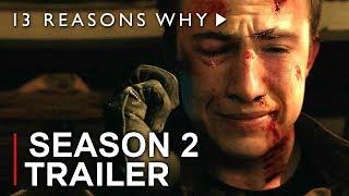 13 REASONS WHY Season 2 Trailer (2018) Netflix Thirteen Reasons Why TV Concept