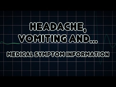 Headache, Vomiting and Epileptic seizure (Medical Symptom)