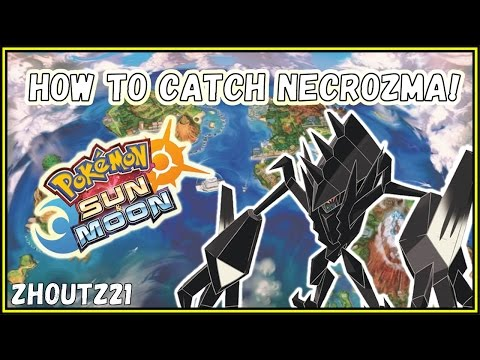 HOW TO CATCH NECROZMA!!! Pokemon Sun & Moon Guide/Tutorial!! Where? How? Masterball?