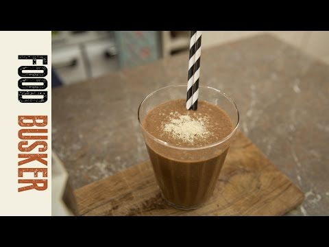 Coffee & Banana Smoothie | Food Busker