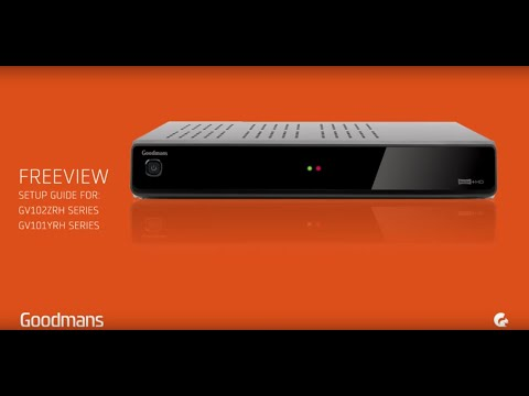 Goodmans Freeview HD Recorder - Setup Guide