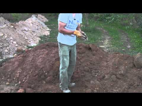WIldlife Clay Lined Pond Project