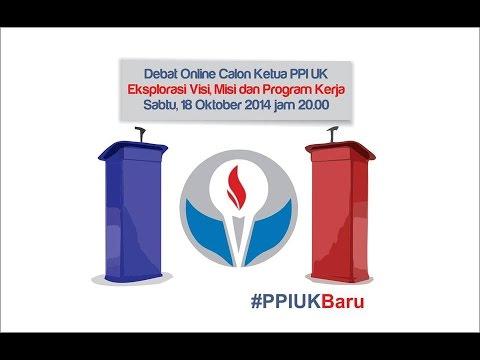 Debat Online Pertama Calon Ketua PPI UK 2014/2015