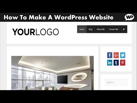 How To Build a Website using WordPress | Step by Step | 2017