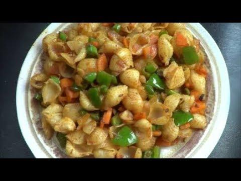 Vegetable Macaroni (Malayalam)