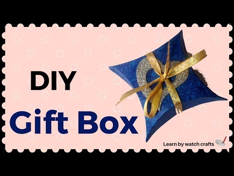 Make a Small Gift Box at Your Home (DIY)   Learn By Watch Crafts