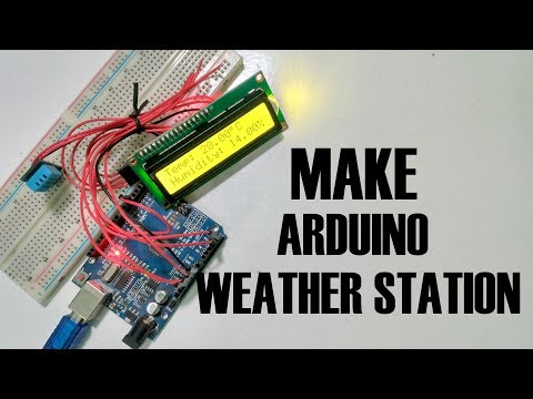 DHT11 Temperature & Humidity sensor with Arduino - Simple Weather Station