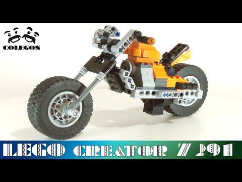 Lego Creator 7291 Chopper - Lego Speed Build