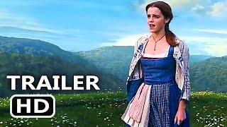 BEAUTY AND THE BEAST (2017) - ALL TRAILERS + TV Spots