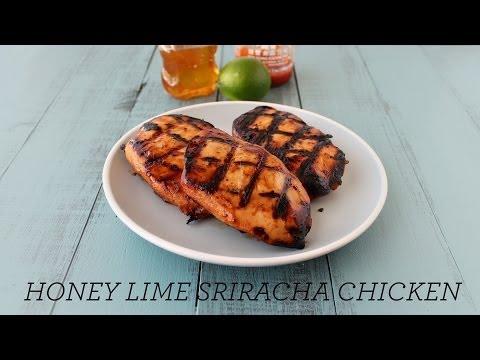 Honey Lime Sriracha Chicken | Easy Grilling Recipe