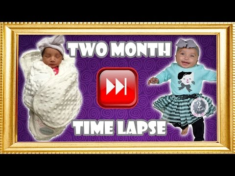 Baby's Two Month Time Lapse
