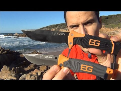 Bear Grylls: ULTIMATE PRO KNIFE VS SHEATH KNIFE par GERBER