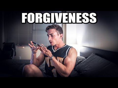 ASKING HIM FOR FORGIVENESS