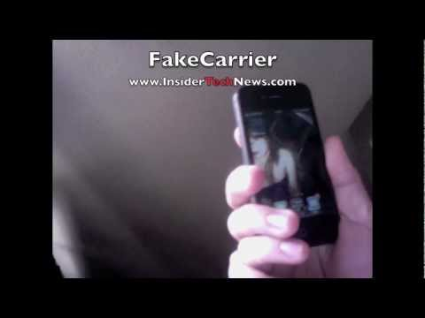 HOW TO CHANGE IPHONE CARRIER Name on iPhone iPod Touch iPad FAKECARRIER