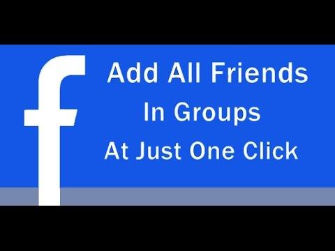 Facebook Group Invite All - chrome.google.com