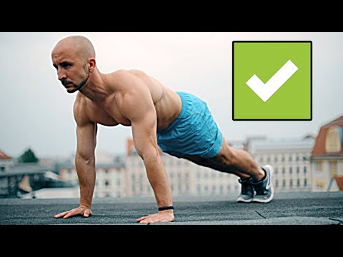 The Perfect Push Up | Do it right!