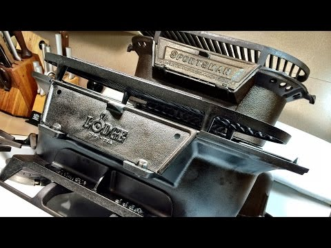 Vintage BSR and Modern Lodge Sportsman Grills | The Differences
