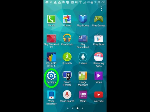 Samsung Galaxy S5 : How to Hide/Unhide apps from Main Menu ?