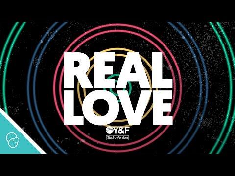 Hillsong Young & Free - Real Love (Studio) (Lyric Video) (4K)