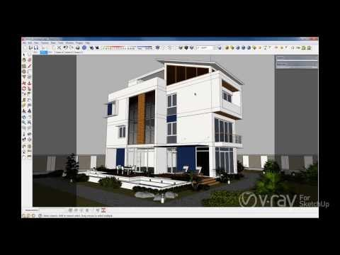 V-Ray 2.0 for SketchUp - Dome Light