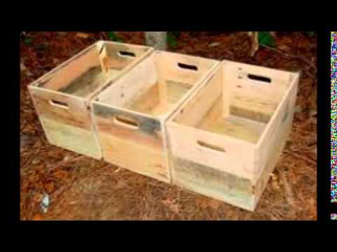 Unfinished Wood Boxes Crafts