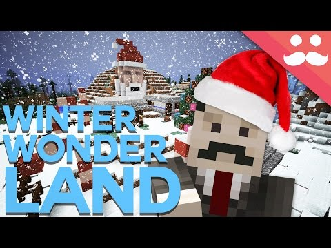 How to make a Winter Wonderland in Minecraft!