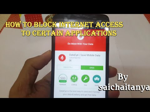 How To Allow or  Block  Internet  Access To specific  Applications
