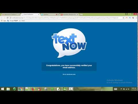 How to get a free USA mobile Number Textnow.com  usa  phone number bangla tutorial. Shohagh Digital