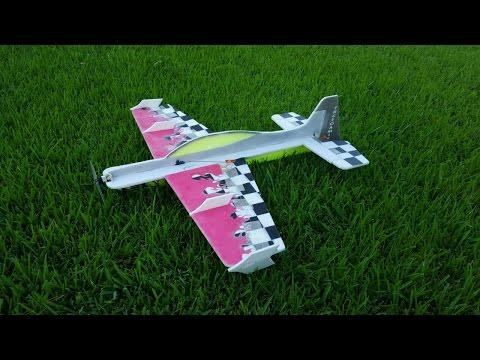 FRCFoamies Sbach 342 Maiden Flight