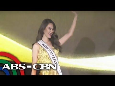 Xxx Mp4 Miss Universe 2018 Catriona Nagbigay Ng Payo Kung Paano Sumagot Sa 39 Q Amp A 39 Sa Beauty Pageant UKG 3gp Sex