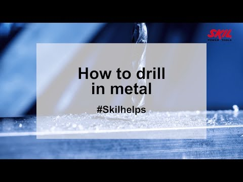 How to drill in metal