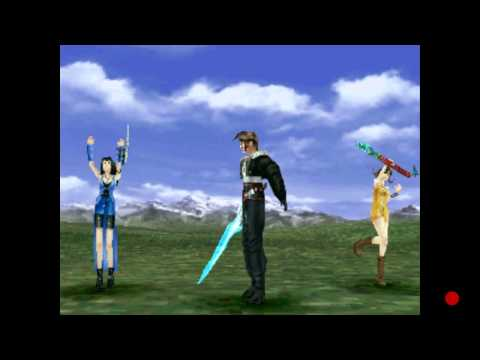 End of Heart FF8 Squall's limit break
