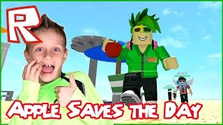 Download Apple Saves The Day / Roblox Natural Disaster Survival Video