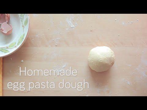 Homemade egg pasta dough | Video recipe