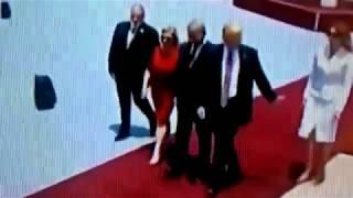 Watch Melania Slap Tramp
