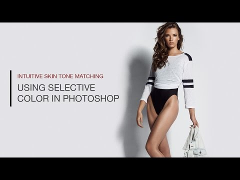 How to Accurately Match Skin Tones Using Selective Color in Photoshop