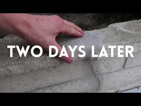 Brick Mortar Repair - How to Repair a Broken Brick Wall