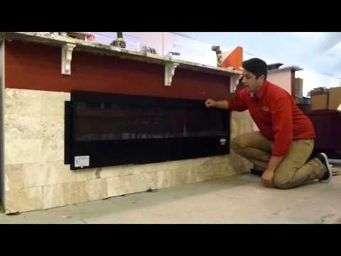 how to install an electric fireplace Modern Flame