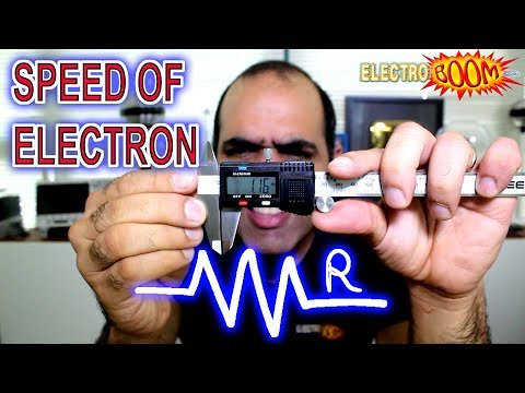Speed of Electrons – What's a Resistor (ElectroBOOM101-004)
