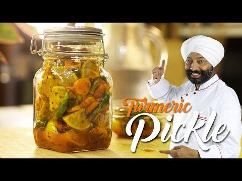 Turmeric Pickle ( HALDI KA ACHAR) | Chef harpal singh