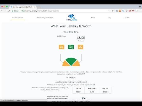 Jewelry Appraisal In 9 Clicks