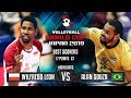 Highlights Poland Vs Brazil Wilfredo Leon Vs Alan Souza World Cup 2019