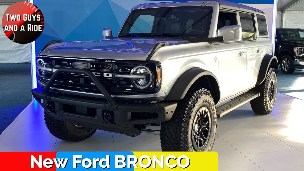 2021 Ford Bronco Outer Banks Edition