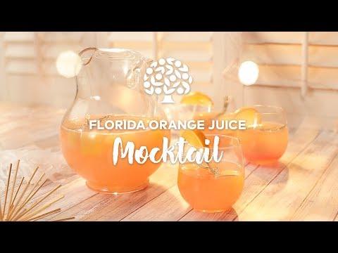 Florida Orange Juice Mocktail