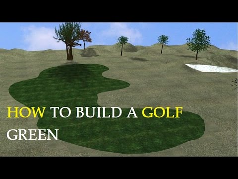 How to Build a Golf Green