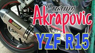 Akrapovic For R15 V3